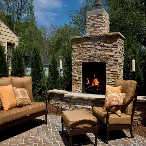 Cost Of Firerock Outdoor Fireplace Fireplaces