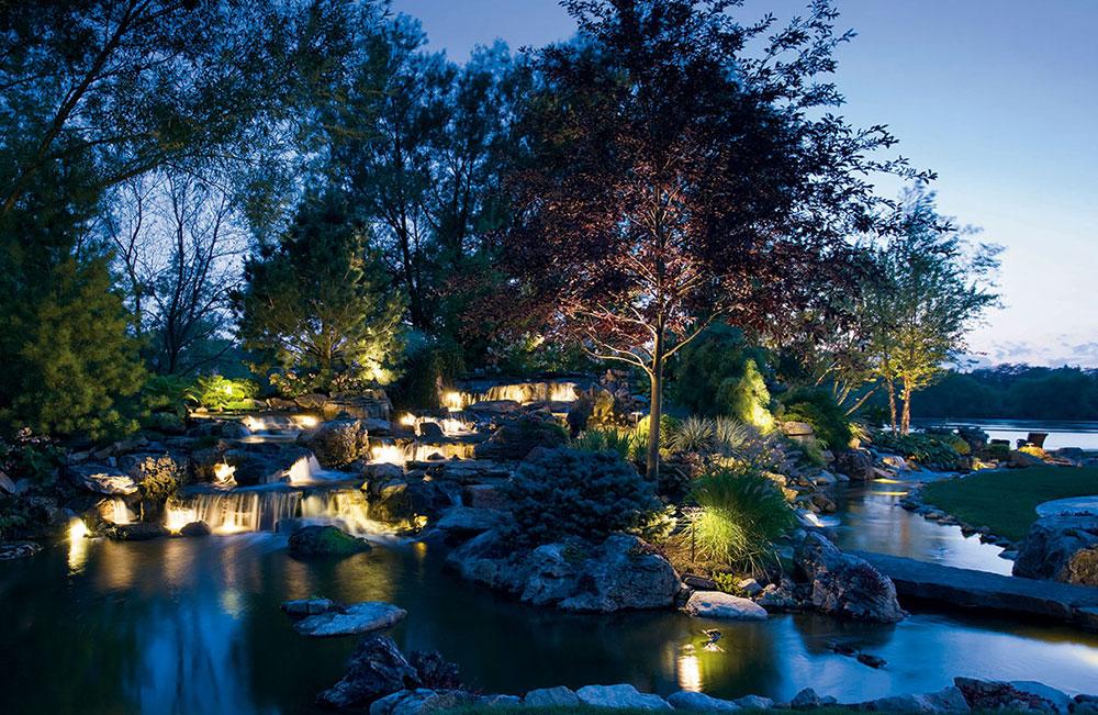 Outdoor lighting sonnenberg landscaping kichler landscape lighting gallery aloadofball Image collections